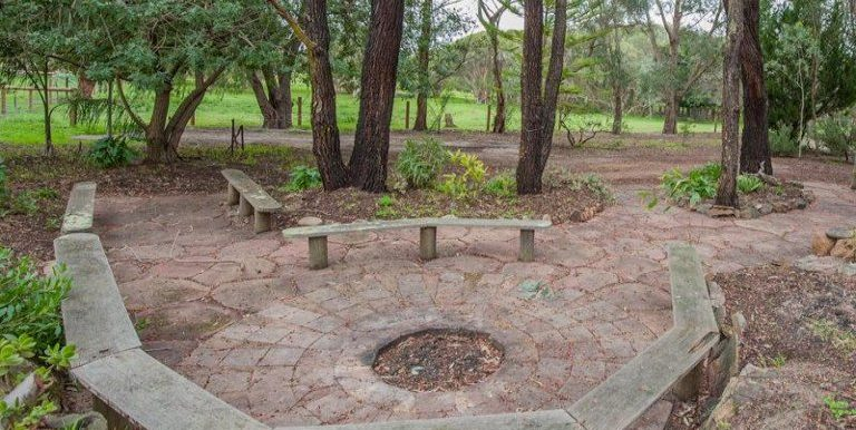 91 Rose fire pit