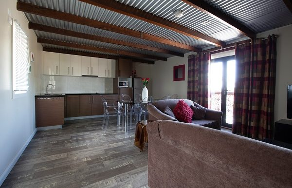 Stables two storey townhouse kitchen loungs -119